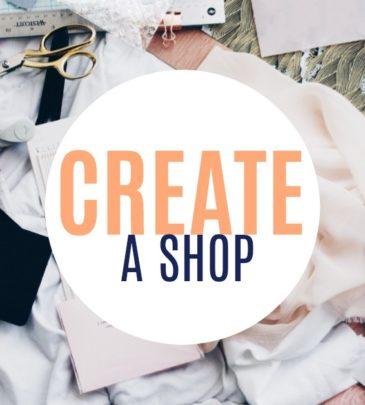 Create A Shop