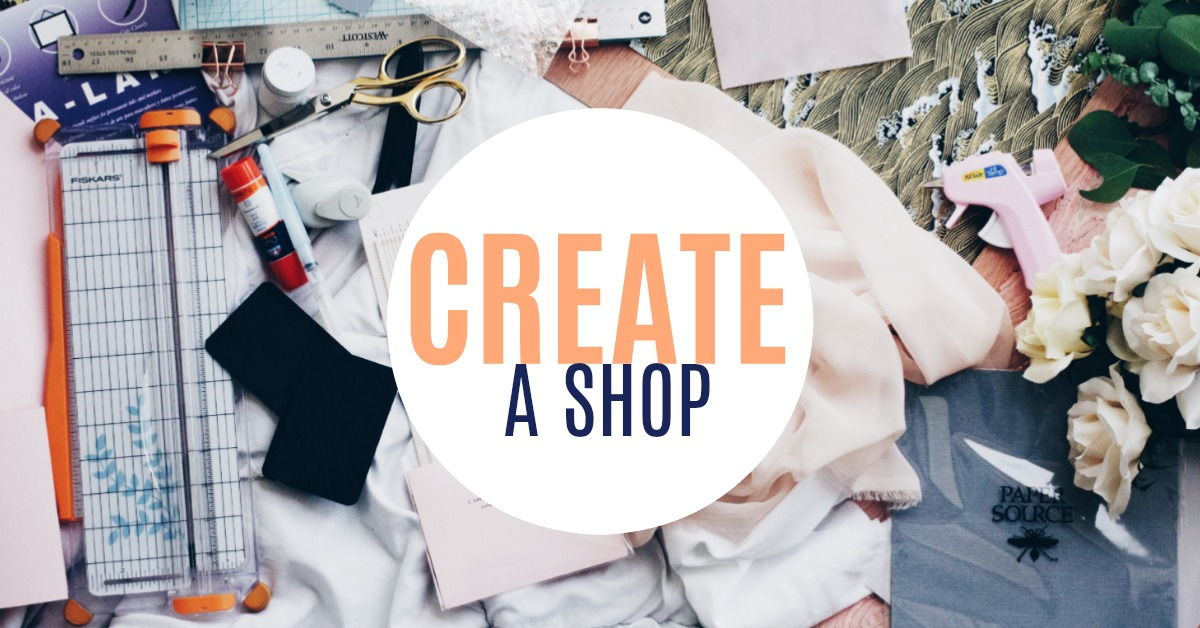 Learn how to build a shop that reflects your brand, know your reports, how to expand, track analytics and more! The Create a Shop course covers basics to customizing. Perfect for any creative person.