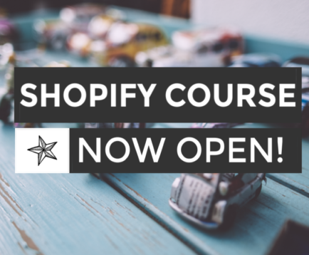 shopify course open ad 1